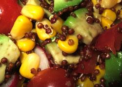 pousses de bambou salade